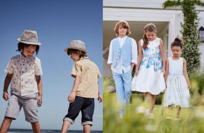 モンスーンの子供服