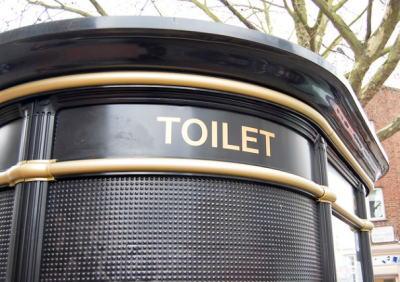 london toilet