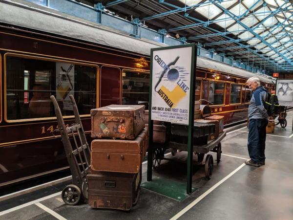 ヨーク国立鉄道博物館1